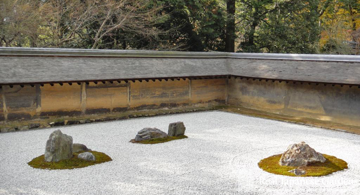 Ryōan Ji Is Maybe The Most Famous Rock Garden Of An