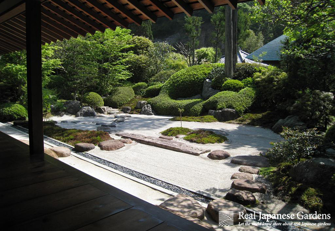 Real Japanese Gardens